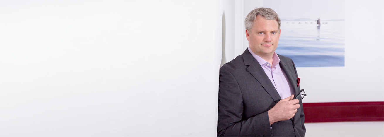 Dipl.- Betriebswirt (FH) und Steuerberater Robert Lohse, Teilhaber der Kanzlei Voigt Lohse Kämmerer, Steuerberater und Dozent für Rechnungswesen