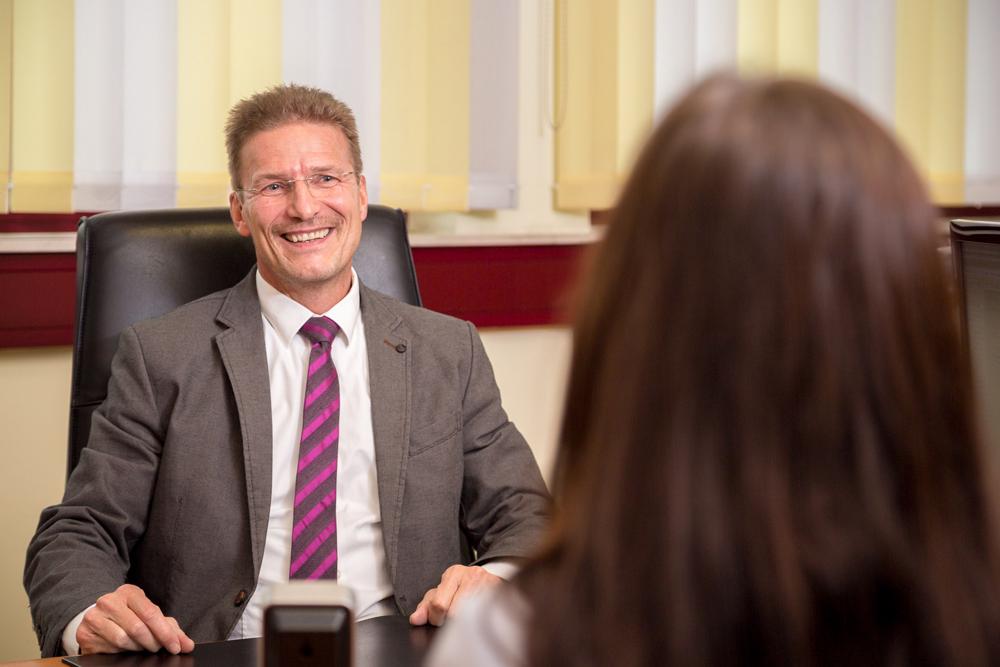 Steuerberater und Dipl.- Betriebswirt (FH) Robert Lohse, Teilhaber der Kanzlei Voigt Lohse Kämmerer, Steuerberater in Offenbach, Rhein-Main